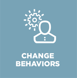 change behaviors