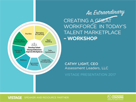 creating an extraordinary workforce in today's talent marketplace PowerPoint